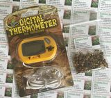 FREE SEEDS Zoo Med Digital Terrarium Thermometer - free post